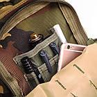 Тактический, походный рюкзак Military. 25 L. Камуфляжный, пиксель, милитари.  / T414, фото 9