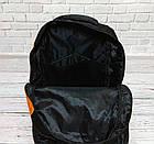 Рюкзак Wiste желтый с черным. Городской, школьный., фото 6