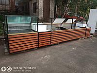 Витрина-куб холодильная линии под заказ. Реставрация ваших витрин., фото 1