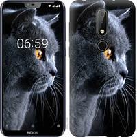 Чехол EndorPhone на Nokia 6.1 Plus Кот 3038u-1539, КОД: 345042