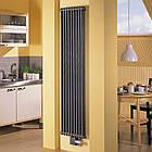 Радиатор водяного отопления Zehnder Charleston 460 x 1792, Traffik black арт.2180-10-9217-3470-SMB, фото 2