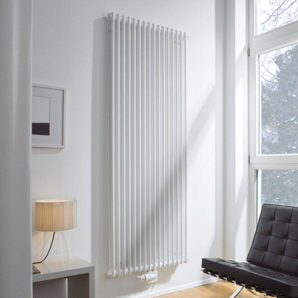 Радиатор водяного отопления Zehnder Charleston 368 x 1800 БЕЛЫЙ арт.3180-8-9016-3470-SMB