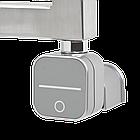 Полотенцесушитель комбинированный Zehnder Subway 973 x 450 мм. нержавеющая сталь,  600 Вт, с программируемым тэном NEX, фото 7