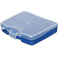 Ящик-органайзер пластиковый с ячейками 4-0835 OR 06 POLY 1/8 165х140х35мм FORTE