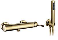 Смеситель для душа REA LUNGO L. GOLD золотой (душевой набор)