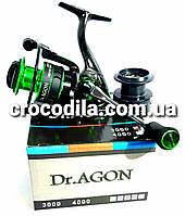 Безинерционная спиннинговая катушка Dr.Agon GB 3000 13+1