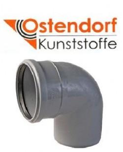 Колено канализационное Ostendorf HT 110 мм 90°