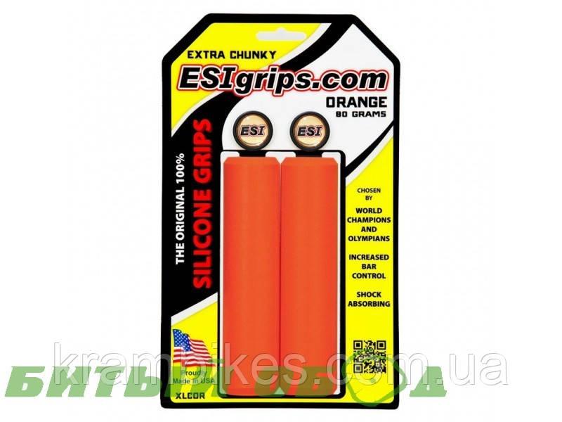 Грипсы ESI - Extra Chunky Orange