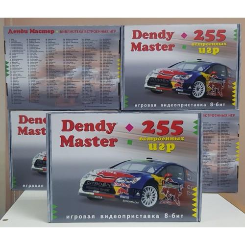 Игровая приставка Dendy Master 255 игр + пистолет Dendi 8 bit Супер Марио Танчики Ретро приставка Денди