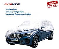 """Тент автомобильный для джипа и минивэна Elegant """"M"""" 100 261 440x185x145см PEVA+PP Cotton"""