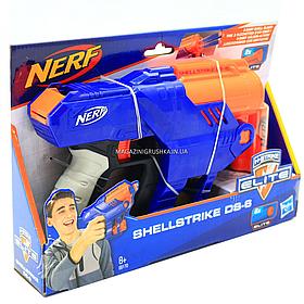 Бластер Hasbro Nerf Elite Shellstrike DS-6 (E6170)