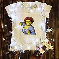 Жіноча футболка з принтом - Фіона XS