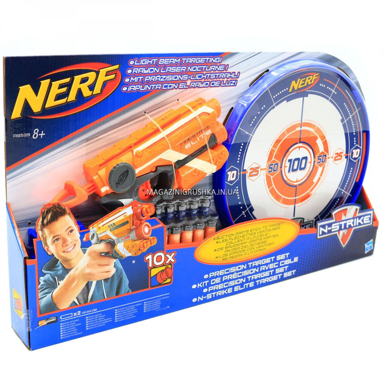 Игрушечное оружие Hasbro Nerf Элит Файрстрайк и Мишень (A9535)