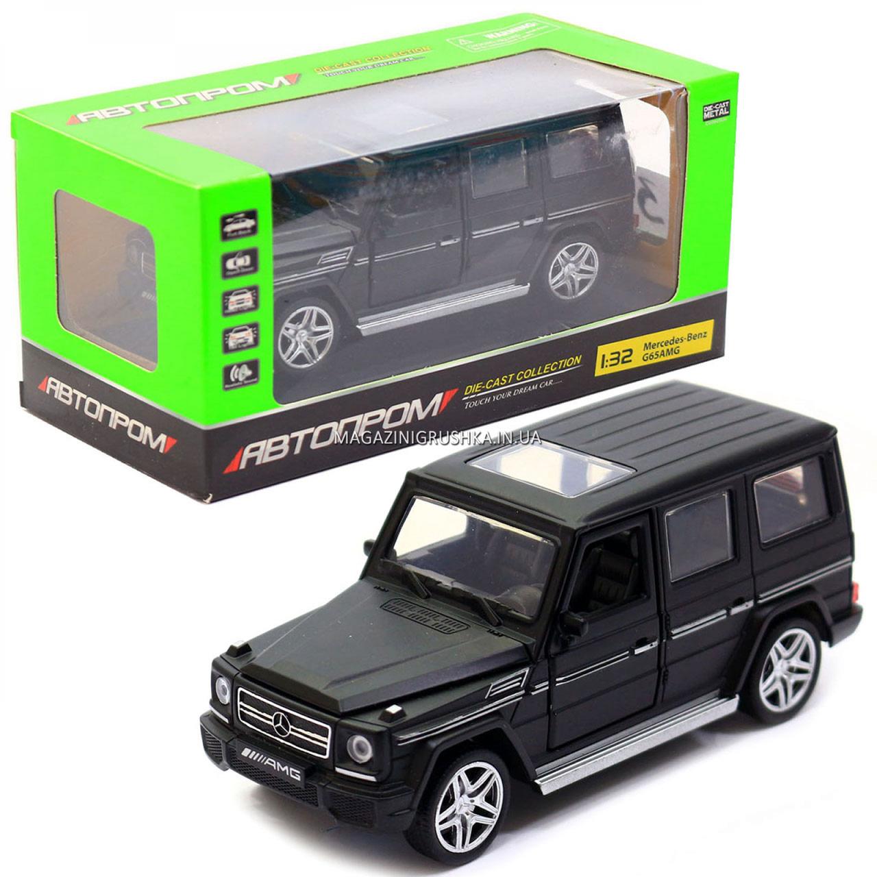 Іграшка машина Автопром Мерседес Бенц (Mercedes-Benz) Гелендваген (Гелик) (3201G)