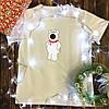 Жіноча футболка з принтом - Брайан XS