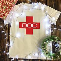 Мужская футболка с принтом - DOC