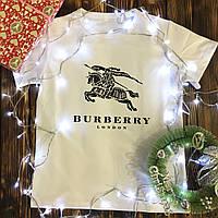 Мужская футболка с принтом - Burberry