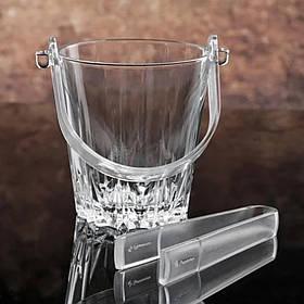 Стеклянное ведро для льда 870 мл Pasabahce Karat 53588