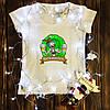 Жіноча футболка з принтом - Рік з пивом XS