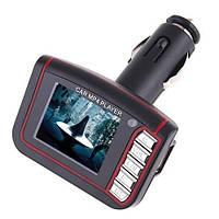 FM модулятор трансмиттер MP3/MP4, фото 1