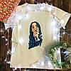 Мужская футболка с принтом - Билли Айлиш