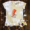 Женская футболка  с принтом - Пара Суши