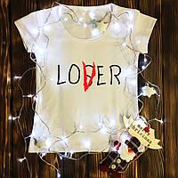 Жіноча футболка з принтом - Lover XS