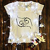 Женская футболка  с принтом - Fake love