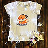 Женская футболка  с принтом - Одиноко