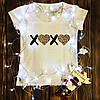 Женская футболка  с принтом - Хо Хо (леопард)
