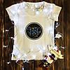 Жіноча футболка з принтом - Діва XS