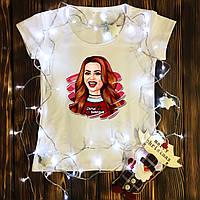 Жіноча футболка з принтом - Шеріл XS