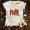 Жіноча футболка з принтом - Покидьки XS
