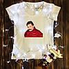 Жіноча футболка з принтом - Баринов XS