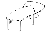 Брифинг Evolution МДФ 25\303(304) (1035х1305х780), фото 1