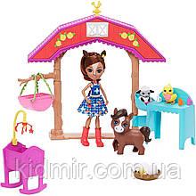Набор Enchantimals Звериная ферма и кукла Лошадка Хейди Конь GJX23