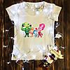 Женская футболка  с принтом - Семья Фиксикоы