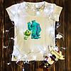 Жіноча футболка з принтом - Корпорація монстрів XS