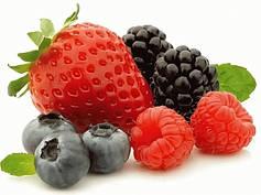 Сублімовані фрукти, ягоди