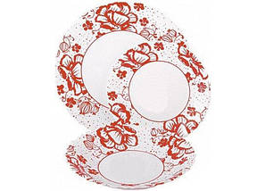 Сервіз столовий 19 предметів Alcove Red Luminarc H2464, фото 3