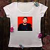 Жіноча футболка з принтом - Монатік XS