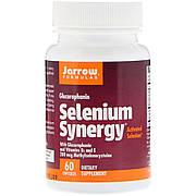 Синергия Селена, Selenium Synergy, 200 Мг, Jarrow Formulas, 60 капсул