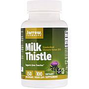 Расторопша, Силимарин, 150 мг, Jarrow Formulas, 100 Вегетарианских Капсул