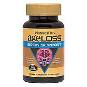 Комплекс Для Поддержки Мозга, AgeLoss Brain Support, Natures Plus, 60 капсул