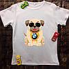 Мужская футболка с принтом - Пёс BWM