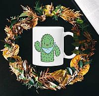 Чашка с принтом - Кактус