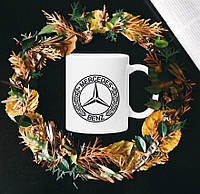 Чашка с принтом - Mercedes-Benz