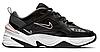 """Женские Кроссовки Nike M2K Tekno """"Black & Plum Chalk Pink"""" - """"Черные Белые Розовые"""""""