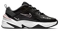 """Женские Кроссовки Nike M2K Tekno """"Black & Plum Chalk Pink"""" - """"Черные Белые Розовые"""", фото 1"""
