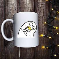Чашка с принтом - Уточка